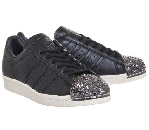 99 Taglia £ Superstar nuovissimo Metal Adidas Trainer 80's Originals rrp 3D 9 TxY6Bn