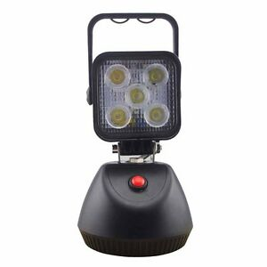 15w rechargeable portable led work light with magnetic base free. Black Bedroom Furniture Sets. Home Design Ideas