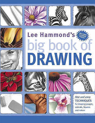 Lee Hammond's Big Book of Drawing-ExLibrary