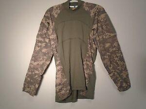8f9921a2bca9 US ARMY COMBAT UNIFORM ACU MASSIF COMBAT SHIRT FLAME RESISTANT SIZE ...
