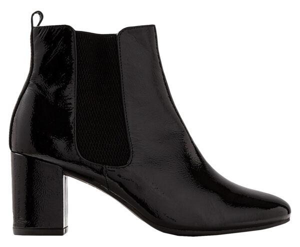 Marks & Spencer Leather Block Heel Chelsea Women's Boots, Black Patent - Uk 5   Acquisti Online Su Attivando La Circolazione Sanguigna E Rafforzando I Tendini E Le Ossa