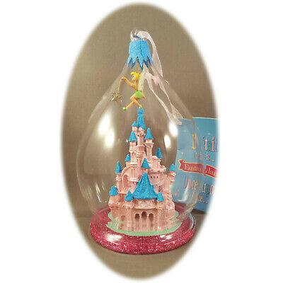 Tinkerbell Christmas Ornament.Disneyland Paris Tinkerbell Castle Christmas Ornament Bauble Map Ebay