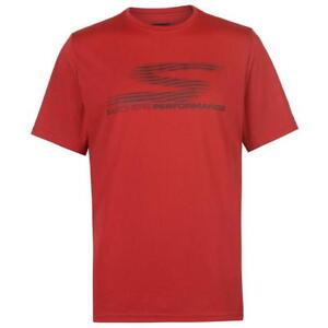 Skechers-Revol-Camiseta-Para-Hombres-Rojo-Grande