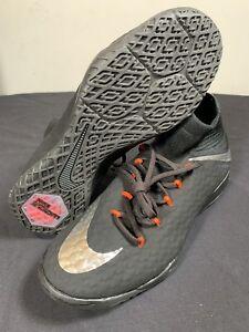 6da93a48fd5 Nike Jr HypervenomX Proximo II IC Black Indoor Soccer Shoes 852602 ...