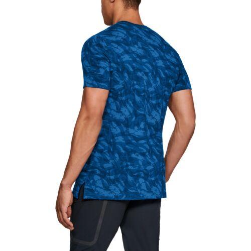 MEN/'S UNDER ARMOUR T-shirt Sportstyle AOP TEE Camo Motif Imprimé 1305671-437