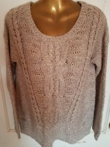 651fd21068012b Details about Beautiful Ladies Sweater Size M By Designer Maurices Cable  Knit Stylish Comfy