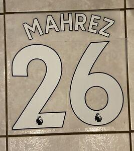 Flocage Nameset MAHREZ #26 Manchester City 2019-2020 Home Domicile