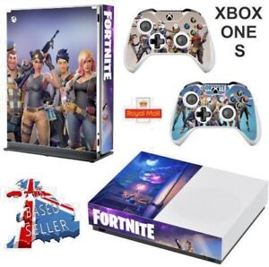 Fortnite Xbox One S Slim Textured Vinyl Protective Skin Decal