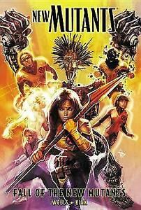 New Mutants V3 Fall of the New Mutants TP - Marvel Comics - X-Men Mutant