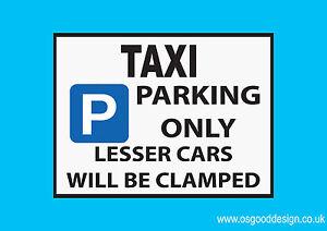 Taxi-Parking-Only-Vinyl-Sticker-Cab-Private-Hire-Cabbie-Car-Black-Cab-D072