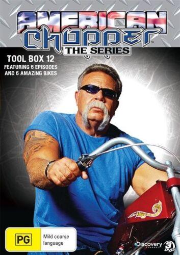 1 of 1 - American Chopper The Series Tool Box 12 (3 Discs) DVD - New/Sealed Region 4