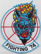US Navy VF-74 Fighter Squadron 74 Be-Devilers Embroidered Patch Badge