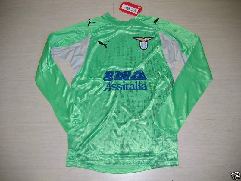 Lazio Rom T-Shirt Torhüter GK Jersey Jersey Jersey Trikot 08 Grün m  30 4780a4