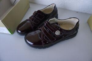 Waldlaeufer-Damen-Comfort-Schuhe-Mokassins-Klett-V-Gr-5-5-H-38-5-Lack-Leder-NEU