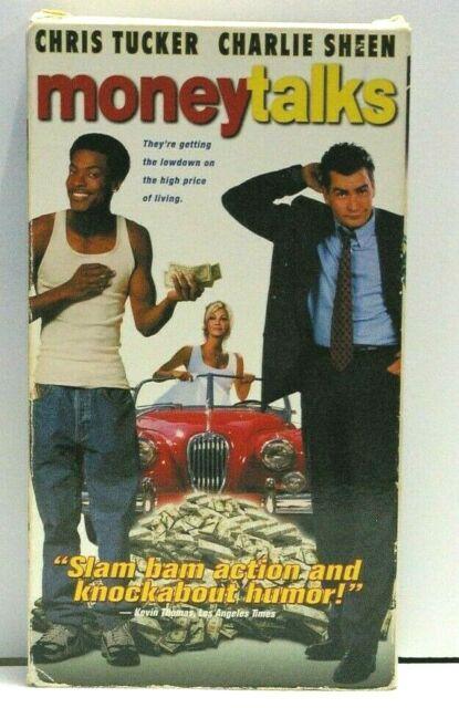 Money Talks (VHS, 1998) Charles Sheen