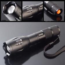 1600 Lumens Zoom CREE XM-L T6 LED Flashlight Torch Lamp Light 18650/AAA Bright