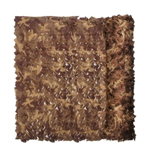 Camouflage Netting Oxford Fabric Hunting Shooting Hide Camo Green Army Vintage
