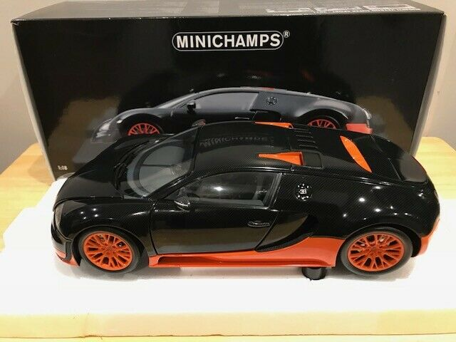 1 18 Minichamps Bugatti Veyron Super Sport World Record Edition 2011 VERY RARE