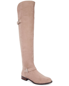 NEW Bar III Women's Daphnef Over The Knee Boots Size 8.5 M Taupe $129.5