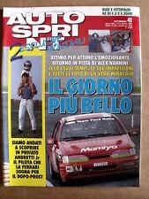 AUTOSPRINT n°41 1991 Alessandro Nannini in pista - Michael Andretti  [P51]