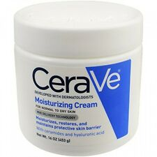 CeraVe Moisturizers, Moisturizing Cream, 16 Ounce, New, Free Shipping