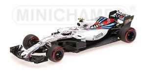 Minichamps - Mercedes Martini Racing Fw41 Sirotkin F1 2018 1/43
