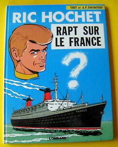 RIC-HOCHET-TIBET-DUCHATEAU-RAPT-SUR-LE-FRANCE1968-DEDICACE-TBE