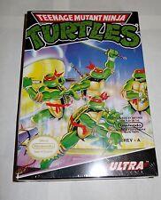 Teenage Mutant Ninja Turtles 1 (Nintendo Entertainment System NES 1989) NEW TMNT