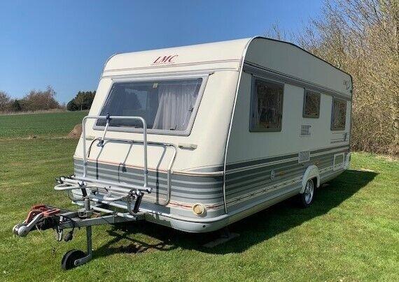 Velholdt Campingvogn LMC Dominant