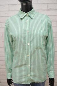 Camicia-Donna-MAX-MARA-Maglia-Taglia-XL-Blusa-Polo-Shirt-Woman-Manica-Lunga