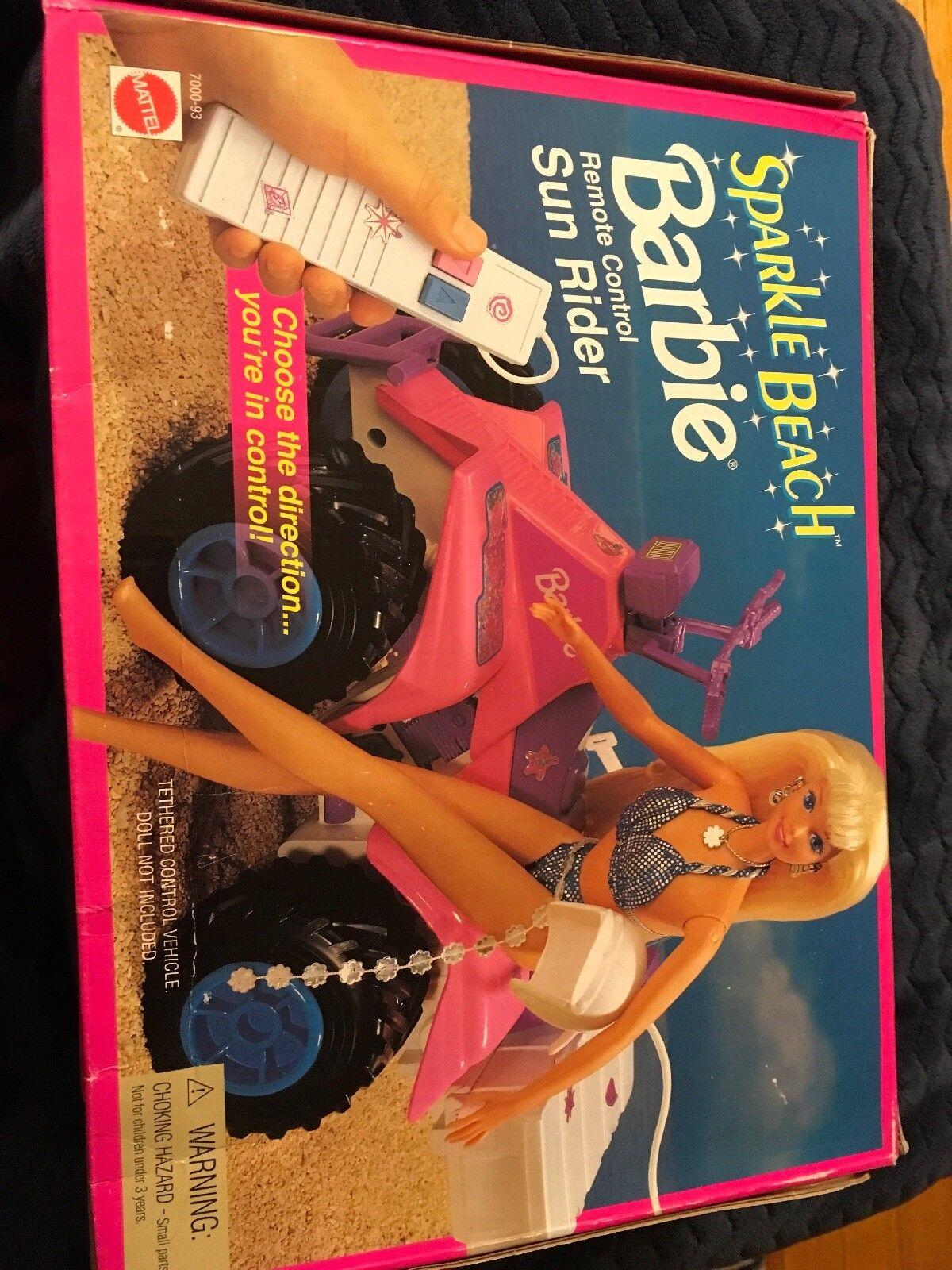 Sparkle Beach Barbie Remote Control Sun Rider 7000-93
