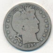 1897-S 50C Barber Half Dollar