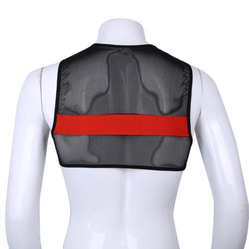 Plus M-3XL Men Patent Leather Short Sleeve Button T-shirt Crop Tops  Costume