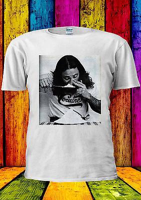 Cocain Guy Boy Drug Funny Heroin T-shirt Vest Tank Top Men Women Unisex 1365