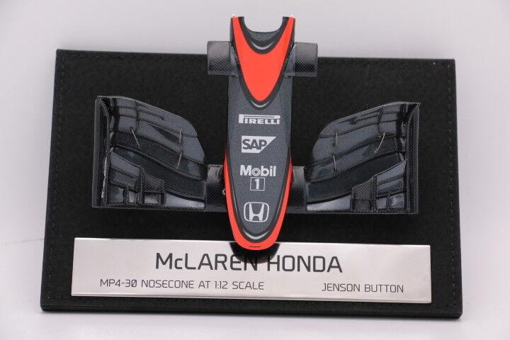 Amalgam 1 12 McLaren MP4 30 Button 2015 Nosecone Nez et aileron F1 Nose Cone