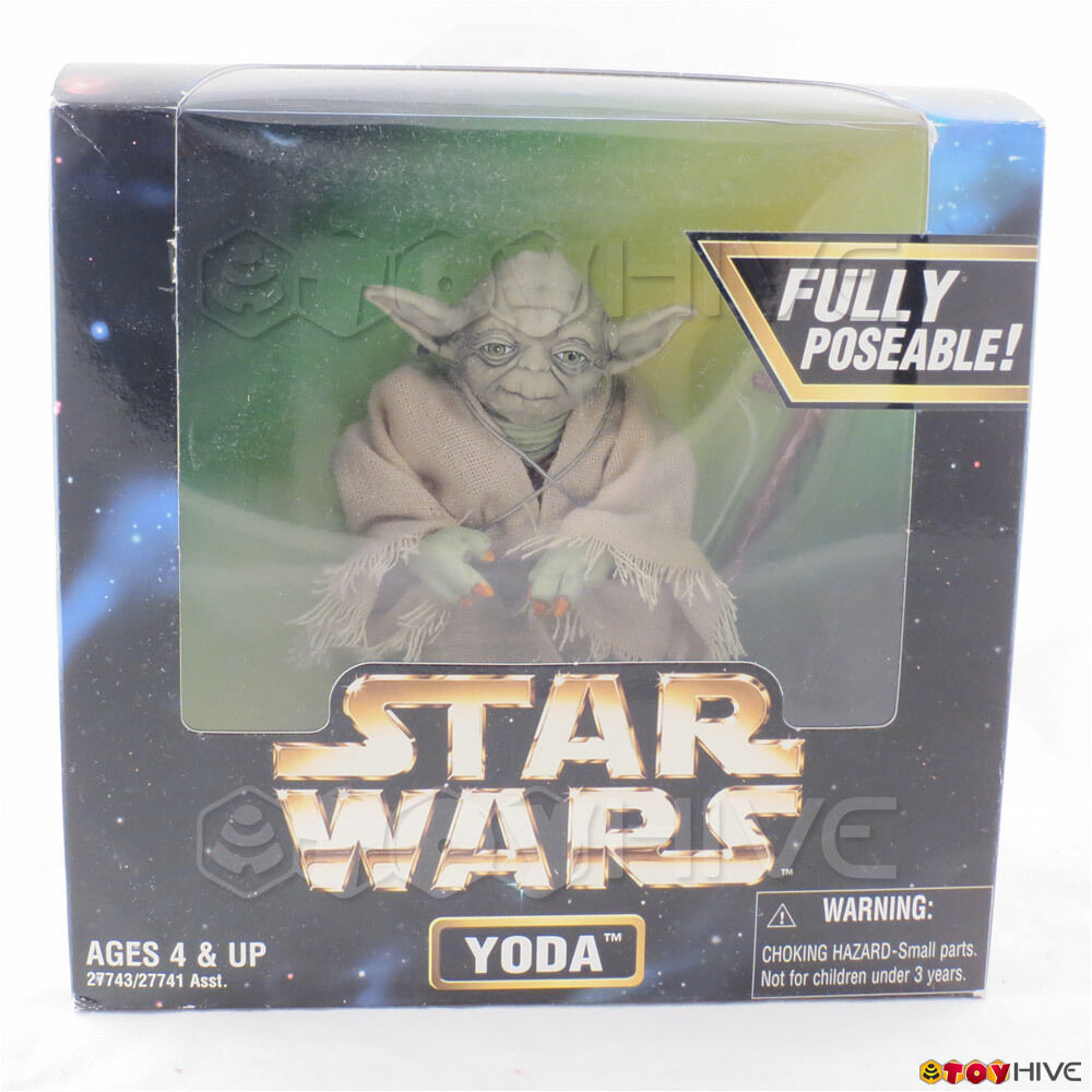 Star Wars Action Collection Yoda fully poseable 12 inch scale scale scale figure by Kenner c78e71