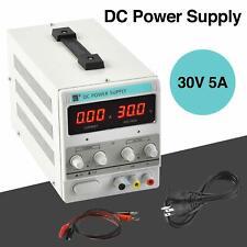 Hot 30v 5a Dc Power Supply Precision Variable Digital Adjustable Lab Grade 110v