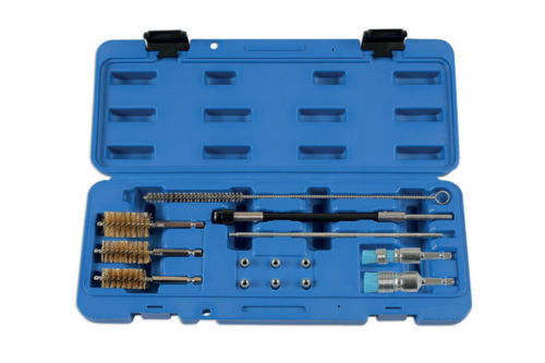 New Laser Tools 6101 Diesel Injector Seat Cleaner Set 14 Piece