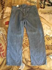"""NEW VIVIENNE WESTWOOD ANGLOMANIA DENIM WASHED OUT PIRATE TROUSERS SIZE 52 UK 34"""""""
