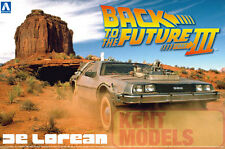 AOSHIMA 1/24 BACK TO THE FUTURE DELOREAN PLASTIC MODEL KIT - PART 3* OFFER PRICE