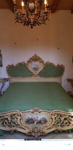 Dettagli su Camera da letto stile barocco veneziano (veneziana) di cantu,  fatta a mano