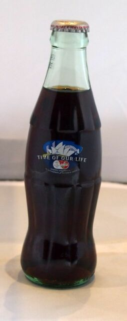 2000 SYDNEY OLYMPICS COCA COLA BOTTLE - TIME OF OUR LIFE