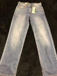 Fit 32 Relax Plus Hommes Coupe 34 X Jeans Levis Size Denim 550 Bleu qY0vAFw