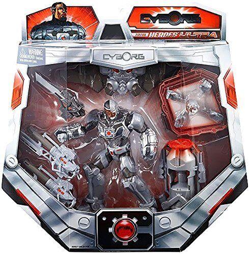 SDCC 2014  DC Comics Total Heroes Ultra Cyborg Cyborg Cyborg  6  action figure mip 52682e