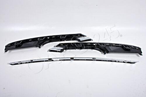 Trims SET 3pcs Fits BMW 3 Series F30 F31 2011 Genuine Center Chrome Strip