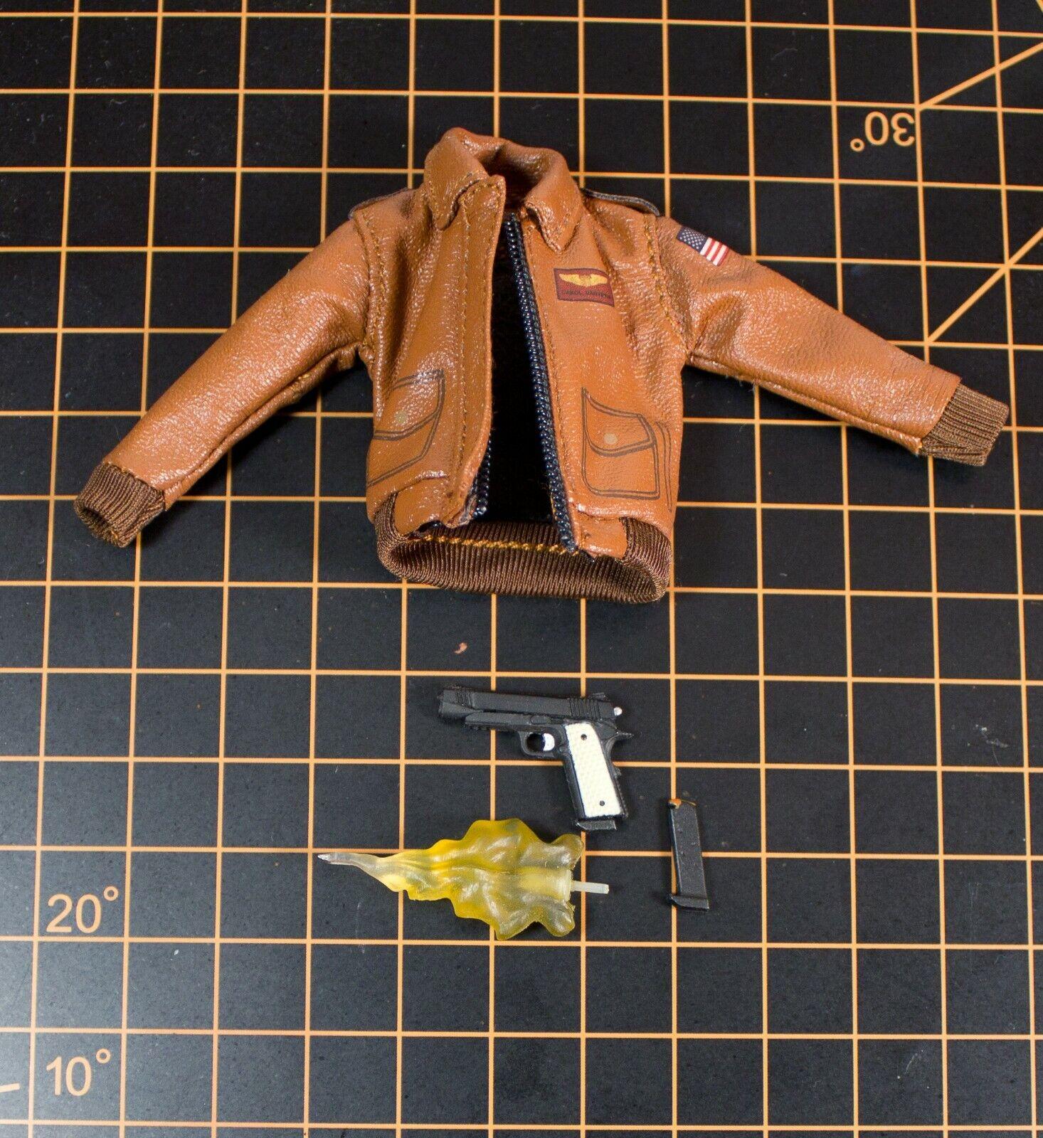 Mezco One:12 Lot of Accessories: Netflix Punisher Pistol Captain Marvel Bomber on eBay thumbnail