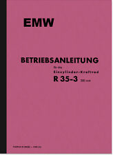 EMW R 35/3 Bedienungsanleitung Handbuch Betriebsanleitung R35/3 BMW Manual