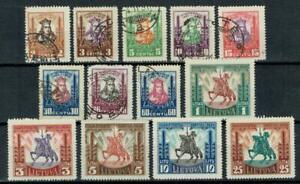 Litauen,Lithuania,Lietuva, Minr 293 - 306,(Ex300) , Falz, gestempelt Lot 66
