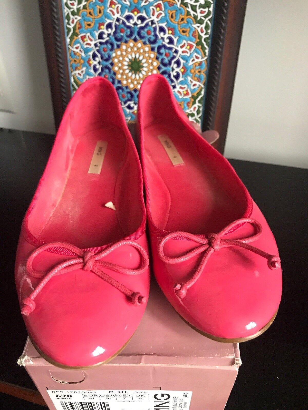 Men/Women Mango 9 Ballet Flats, Pink, Size 9 Mango selling price Attractive fashion Different styles ec1ee2