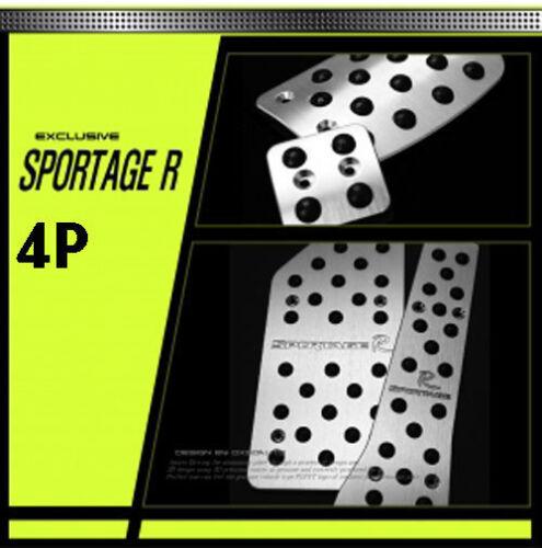 Fits: KIA 2010+ Sportage R Kspeed Dxsoauto sports pedal 4PCS set